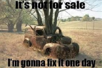 Its not for sale truck bigger